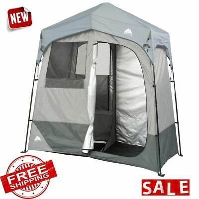 TENT CAMPING SHOWER UTILITY Instant Pop Outdoor Changing Privacy Shelter 2 Room