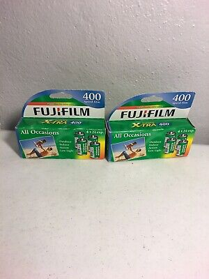 Fujifilm  Fuji 35 Mm Camera Film Superia X Tra 400 8 Rolls 24 Exposure Exp 06/18