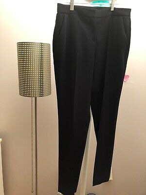 IVANKA TRUMP Women's Business Flat Front Black Pants size 2