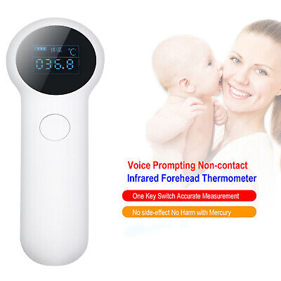IR Infrared Digital Termometer Non-Contact Forehead Baby Adult Thermometer VB
