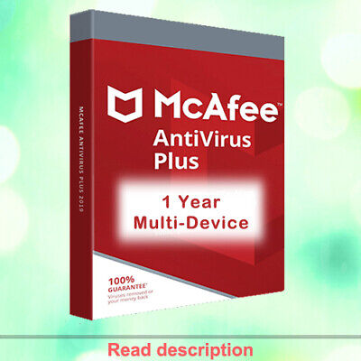 McAfee AntiVirus Plus 2020 | 1 Years | Multi-Device | Immediately Delivery!