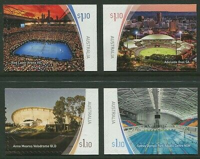 Sports Stadiums Part 2 2020 - Mint Ex-Booklet Self-Adhesives (Bb)