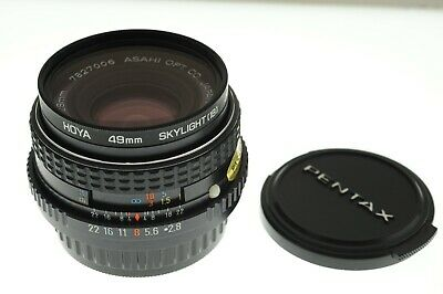 SMC PENTAX-M (PK mount) f/2.8 28mm wide angle lens. EXC++ condition. +filter