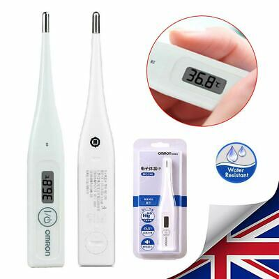Digital Fit OMRON LCD Thermometer Medical Baby Adult Body Ear Mouth Temperature