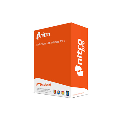 Nitro Pro Create and Edit PDF Files Easily Convert PDF Scan documents word