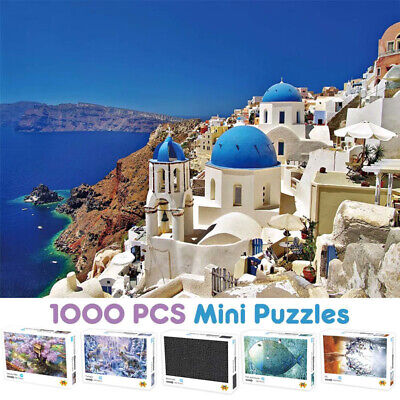 Puzzle Adult 1000 Piece Large Wooden Jigsaw Decompression Game Toy Gifts lot UK
