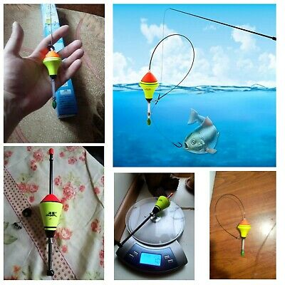 10x fishing float set buoy bobber floats bobbers tackle tools fluctuate lureWZS