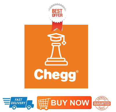 Chegg Premium Account, 45% Discount, More than 1 month (Instant delivery)