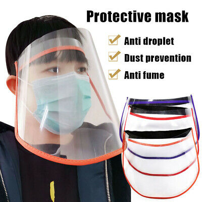 5X Full Face Covering Shield Plastic Anti-fog Protective Dust-proof Safety Cover