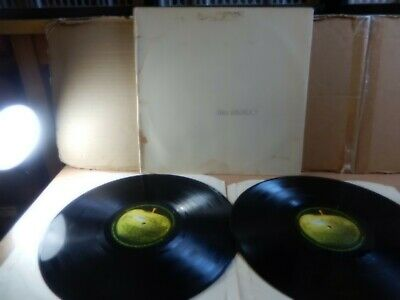 The Beatles - White Album (Apple Stereo PCS 7067/8) 2 x LP + Poster 0109043