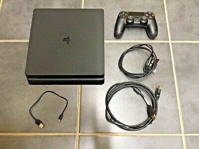 Ps4 Slim Console, Controller, Cables, 2 Games F1 & Fifa 500Gb. Sony Playstation