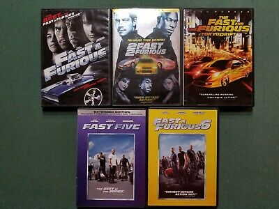 Fast and Furious: Movie Collection , DVD