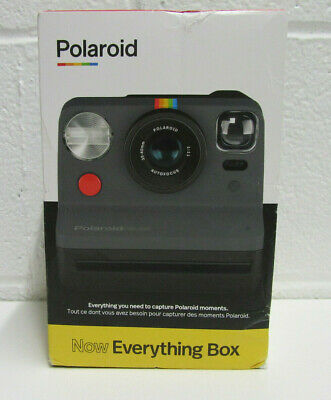 Polaroid NOW Everything Box Autofocus i-Type Instant Camera & Film Pack NEW