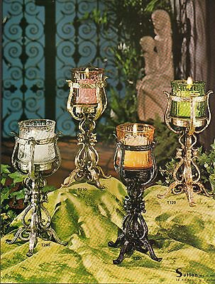 1975 Vintage Ad Sheet #917 - Sutton Candles -   Candlesticks