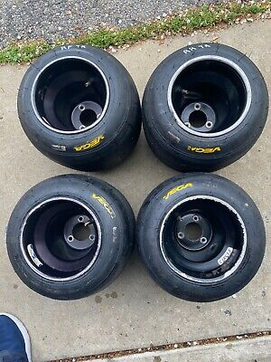 Go Kart Racing Aluminum Wheels And Vega Tires