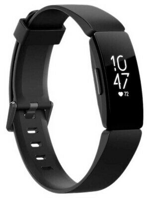 New Fitbit Inspire HR (Black) - Free shipping