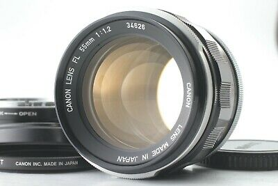 【N.MINT】Canon FL 55mm f/1.2 MF Prime Lens w/ Micro 4/3 Mount Adapter from Japan