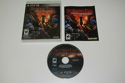 Sony Playstation 3 PS3 Resident Evil: Operation Raccoon City - Complete
