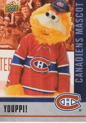 2020 Ud National Hockey Card Day Youppi Mascot Canadiens # M-9 !
