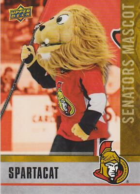 2020 Ud National Hockey Card Day Spartacat Mascot Senators # M-10 !