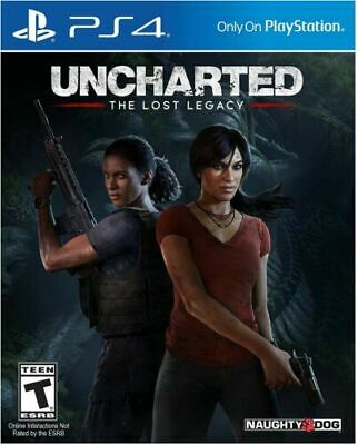 Uncharted The Lost Legacy PS4 Inc Fast Free Postage/Dispatch