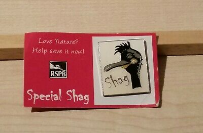 RSPB Pin Badge - Special Shag - Scarce -  (32)