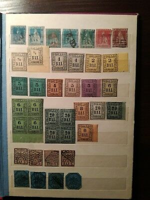 stamps europe italy vatican old collection