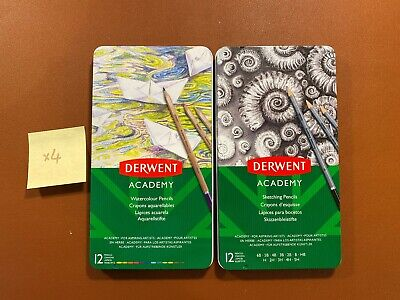 Derwent Academy Sketch and Watcolour Collection Pencils - 24 Pencils