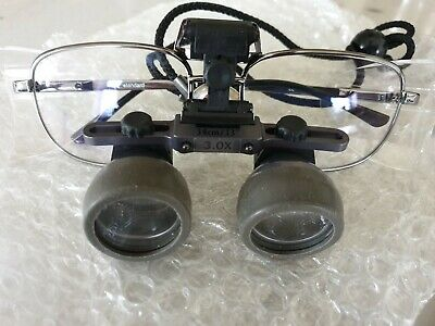 Pair of KEELER High Resolution Gaelian Loupe  Dental Medical Optical Glasses