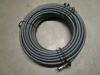 """Spartan Drain Cable #03448806 13/32"""" x 100' With #8 Attachment End"""