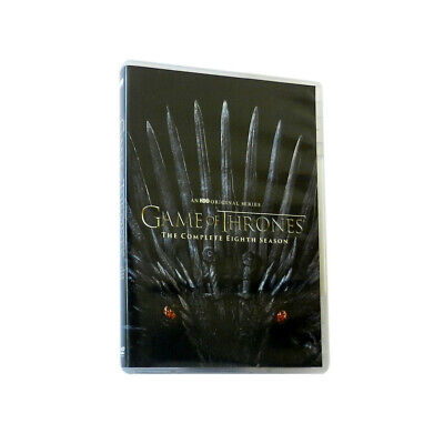 Game of Thrones The Complete Eighth 8th Season 8 DVD BRAND NEW SHIPS FAS.