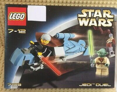 Lego Star Wars  Set 7103 Jedi Dual Brand New Set Yoda & Count Dooku From 2002