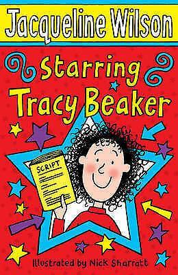 Starring Tracy Beaker by Jacqueline Wilson New Paperback Book