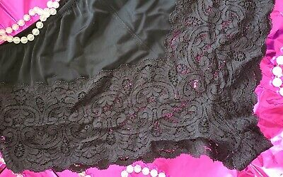 New Vintage Fredericks of Hollywood Sexy Wide Lace Flutter Panties Plus Sz 2X