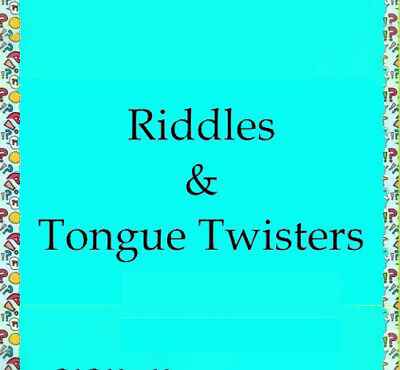 RIDDLES & TONGUE TWISTERS 737 MAX to CANARY BLUE WATCH PDf-eBOOK FAST DELIVERY