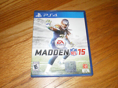 Sony Playstation Ps4 Video Game Ea Sports Madden Nfl 15  Football Sports