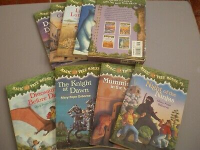 Lot Of 8 Magic Tree House Books By Mary Pope Osborne