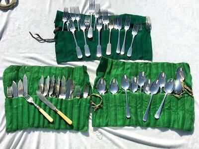Large Job Lot Collection Of Interesting Silver Plated Cutlery