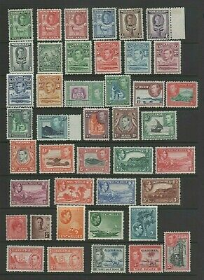 GVI Commonwealth Mint MH Small Collection, Various