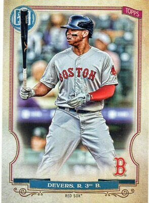 2020 Topps Gypsy Queen Base Card Rafael Devers Red Sox