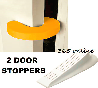 2  Door Guard Finger Protector Jammer Stopper Baby Child Kids Safety Guards