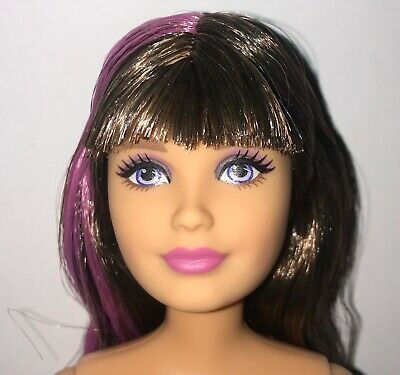 NEW! 2020 Barbie Extra Doll With Earrings Black Hair Fully