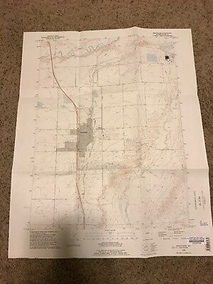 Wheatland WY USGS Topographic Map Topo 7.5 Minute Wyoming Platte County Laramie