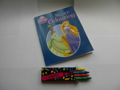 Disney Princess Super Colouring Book The Cheap Fast Free Post