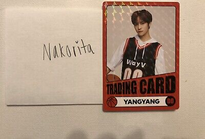 WayV Official 2020 SEASON'S GREETINGS OFFICIAL TRADING CARD PHOTOCARD YANGYANG