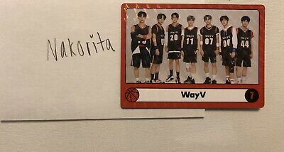 WayV Official 2020 SEASON'S GREETINGS OFFICIAL TRADING CARD PHOTOCARD FULL GROUP