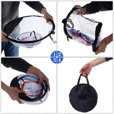 Outdoor Practice Training Net Golf Chipping Pop-up Pitching Portable Aid Net Bag