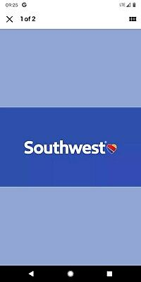 Southwest LUV Voucher $395.76 Expires July 07, 2020