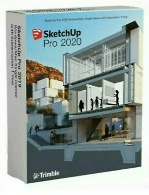 SketchUp pro 2020 for Windows, lifetime, multilingual | 100% garantito | 2 pc