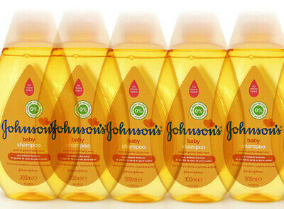 Johnsons Baby Shampoo Pure & Gentle 300ml Each Paraben Sulphate & Dye Free